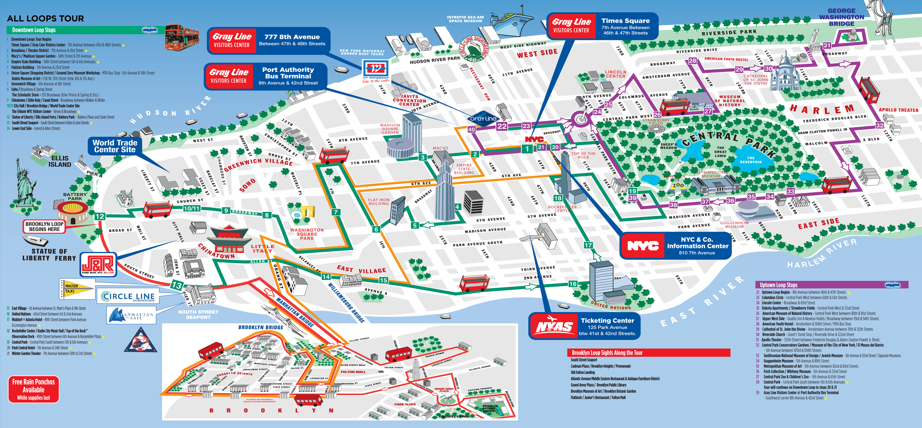 Tourist Map Of New York Download Travel Map New York   Travel Maps - Printable Map Of New York City With Attractions