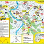 Tourist Map Of Rome City Centre   Printable Map Of Milan City Centre
