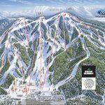 Trailmap California Road Map Southern California Ski Resorts Map   Big Bear Mountain Map California