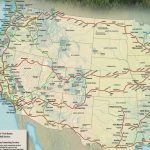 Train Links California State Map California Zephyr Route Map   California Zephyr Map