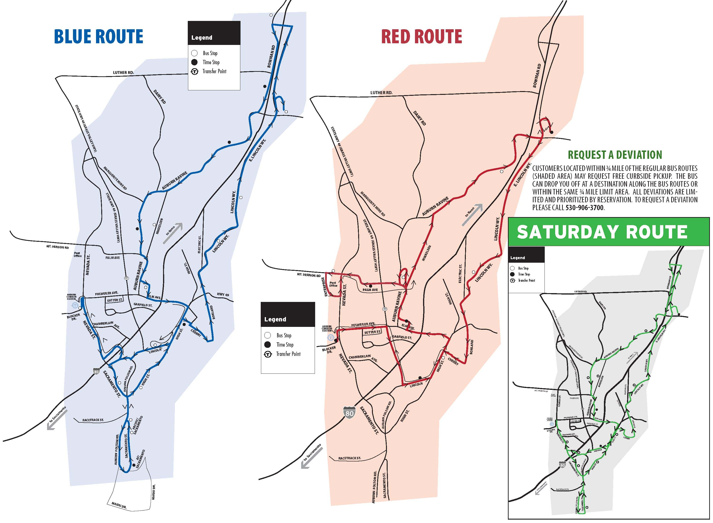 Transit Services Auburn Ca And California Map - Touran - Auburn California Map