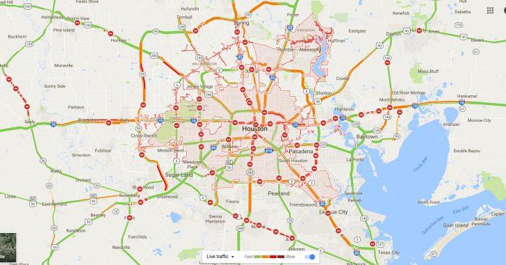 Google Road Map Of Texas