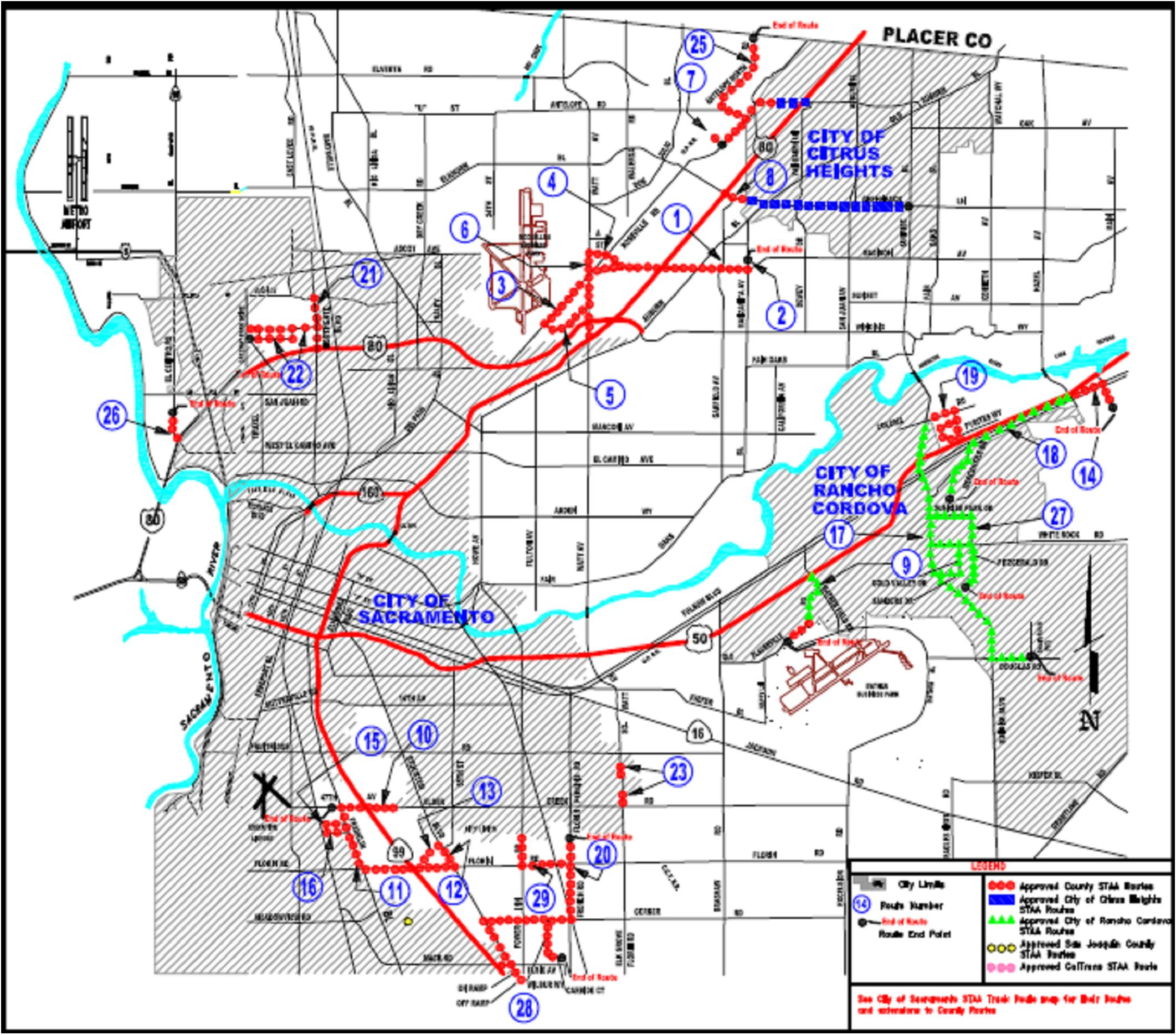 Truck Routes (Staa) - California 511 Map