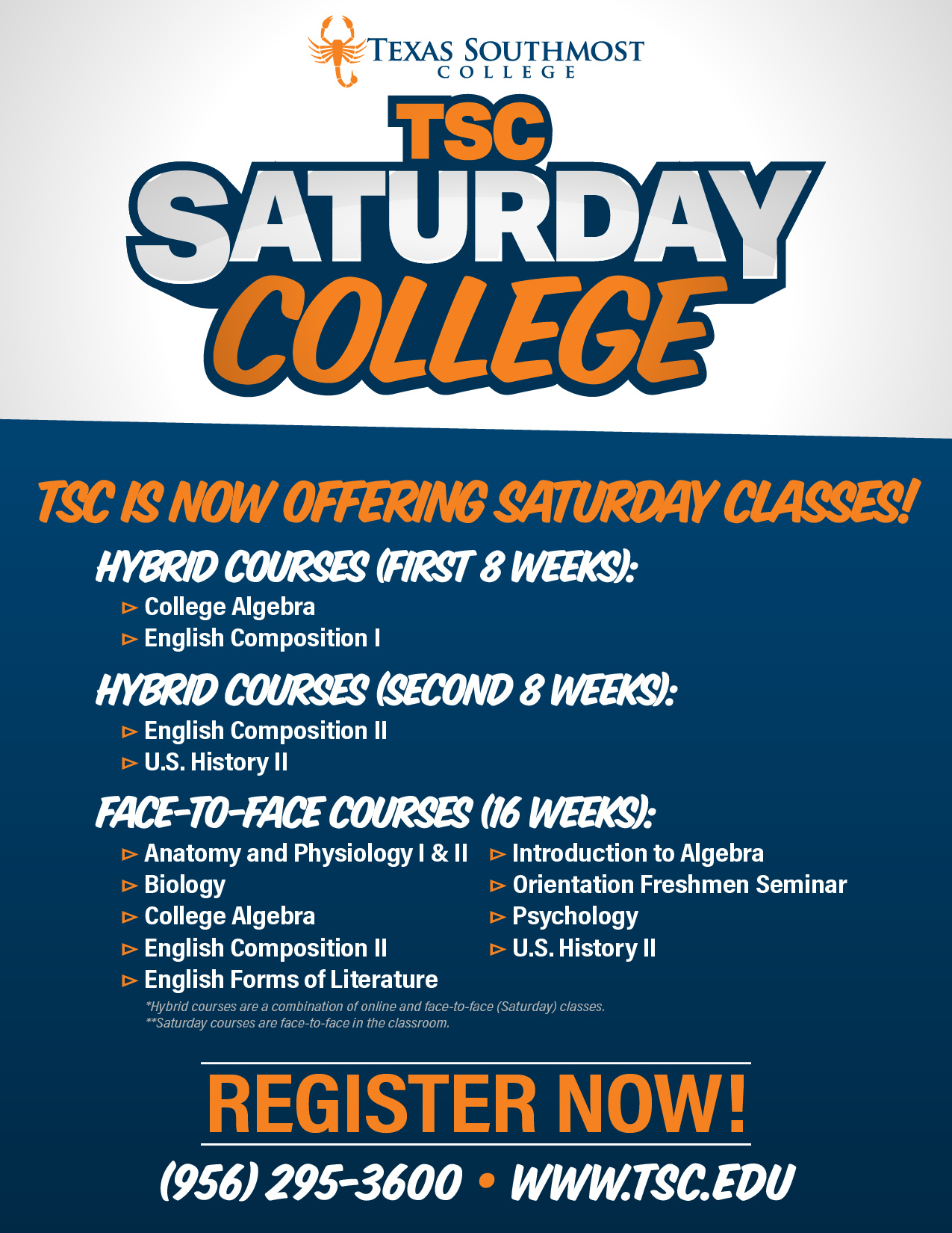 Tsc Saturday College - Texas Southmost College Map