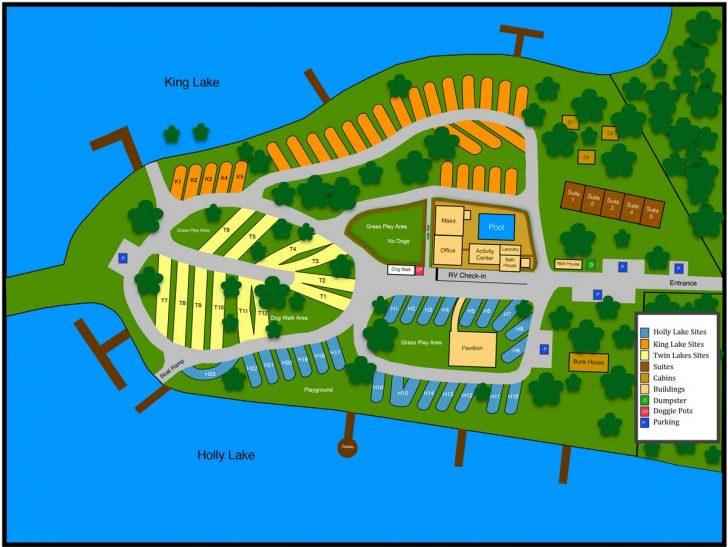 Florida Campgrounds Map
