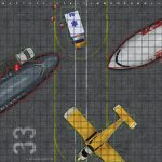 Two Printable Maps   1) Airport And 2) Gaming Convention Re Skin   Printable Heroclix Maps