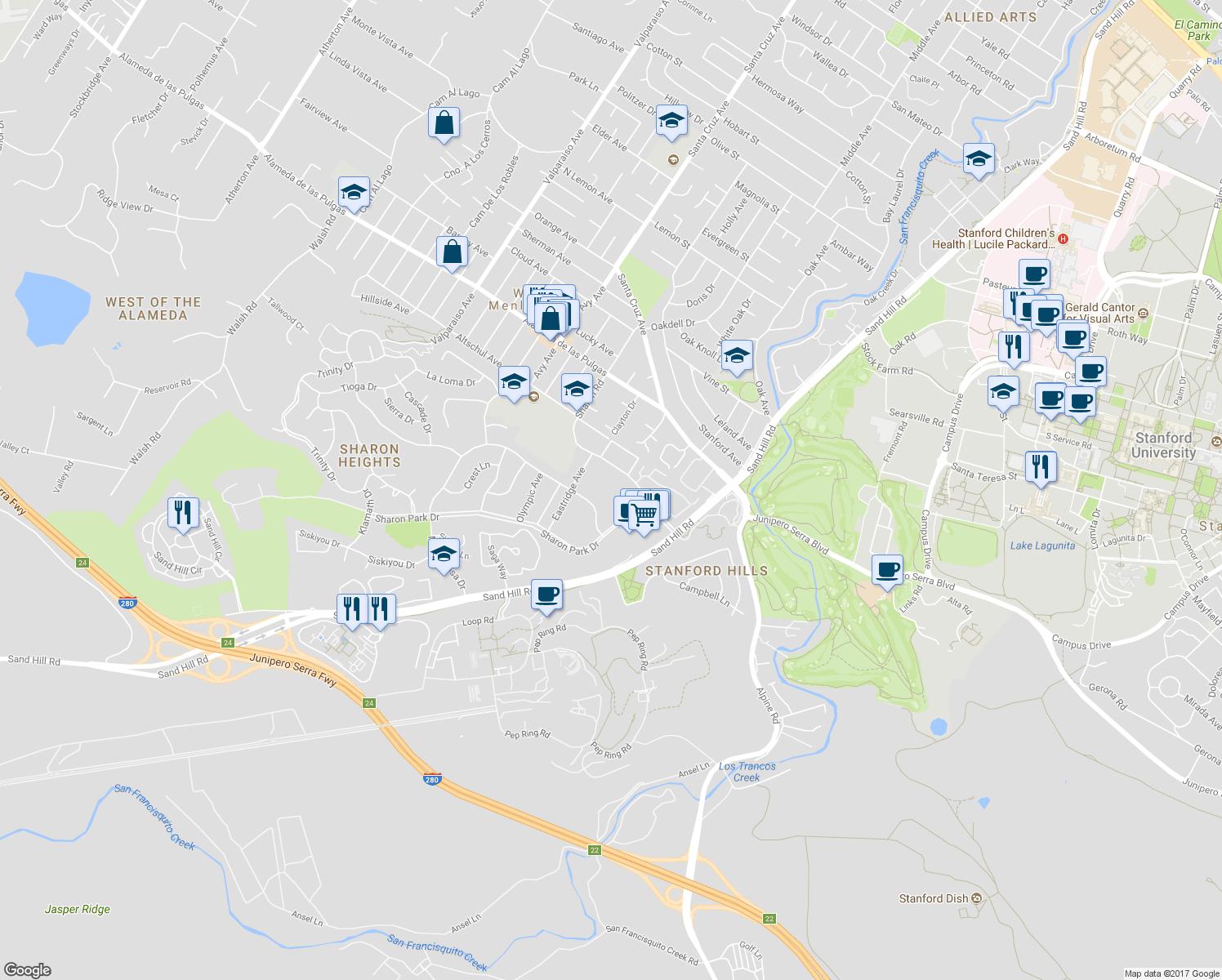 U S Route 101 In California Wikipedia Menlo Park Map - Touran - Menlo Park California Map