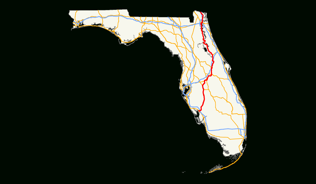 U.s. Route 17 In Florida - Wikipedia - Starke Florida Map