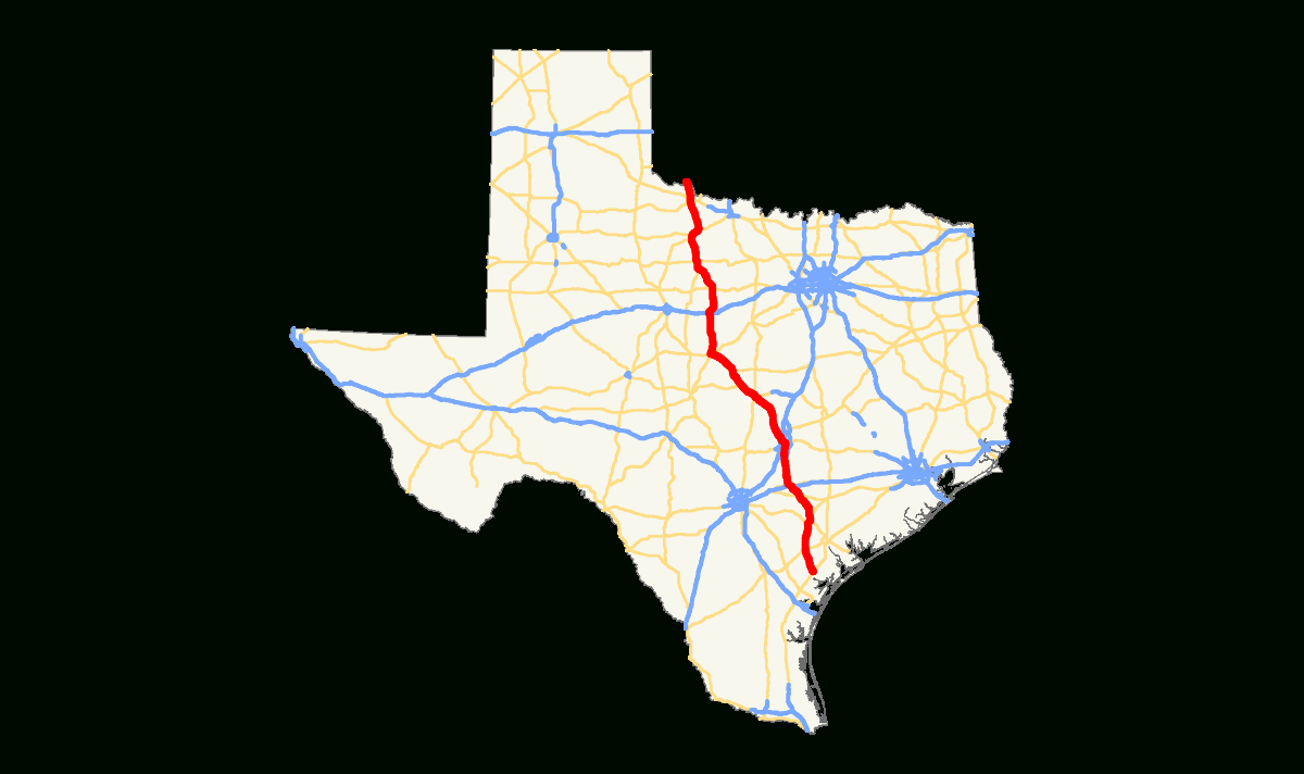 U.s. Route 183 In Texas - Wikipedia - Texas Highway 183 Map