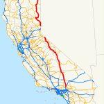 U.s. Route 395 In California   Wikipedia   Mojave California Map