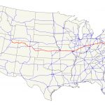 U.s. Route 40   Wikipedia   Map Of I 40 In Texas