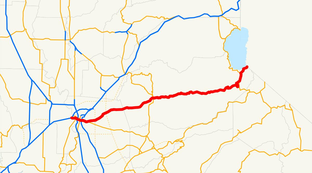 U.s. Route 50 In California - Wikipedia - California Chain Control Map