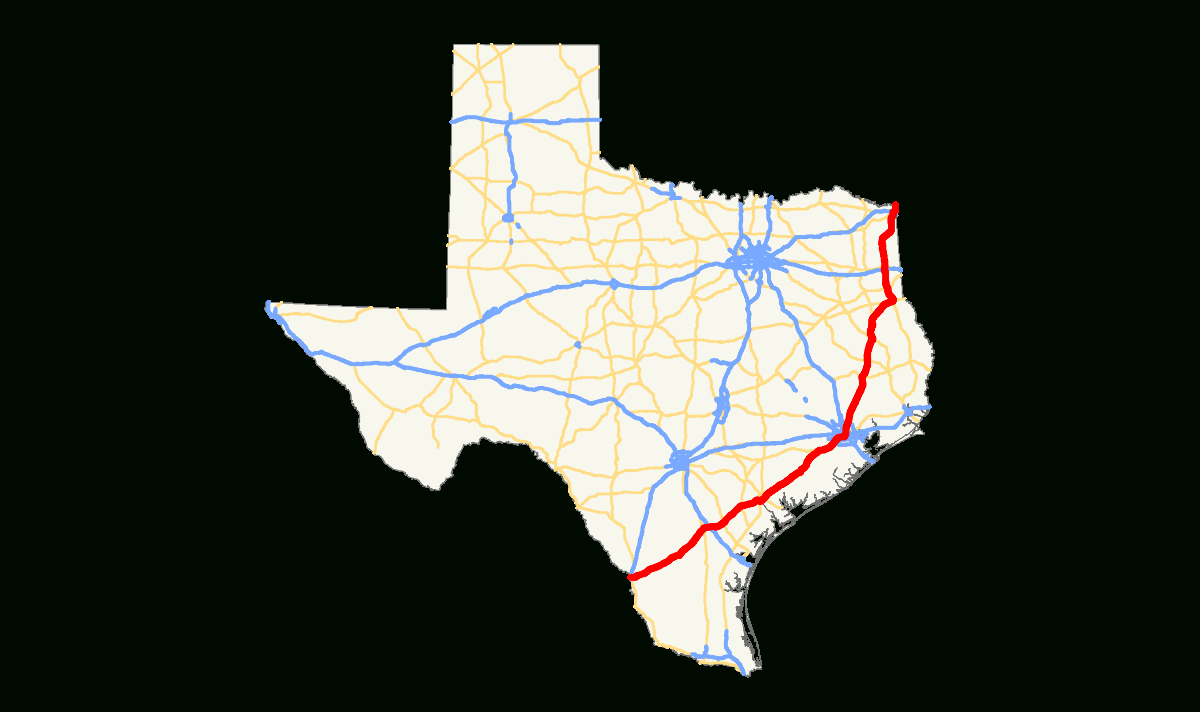 U.s. Route 59 In Texas - Wikipedia - Marion Texas Map