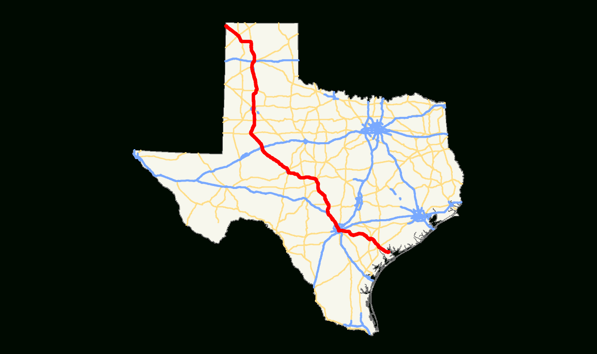 U.s. Route 87 In Texas - Wikipedia - Dumas Texas Map