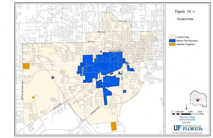 Map Of Gainesville Florida Area