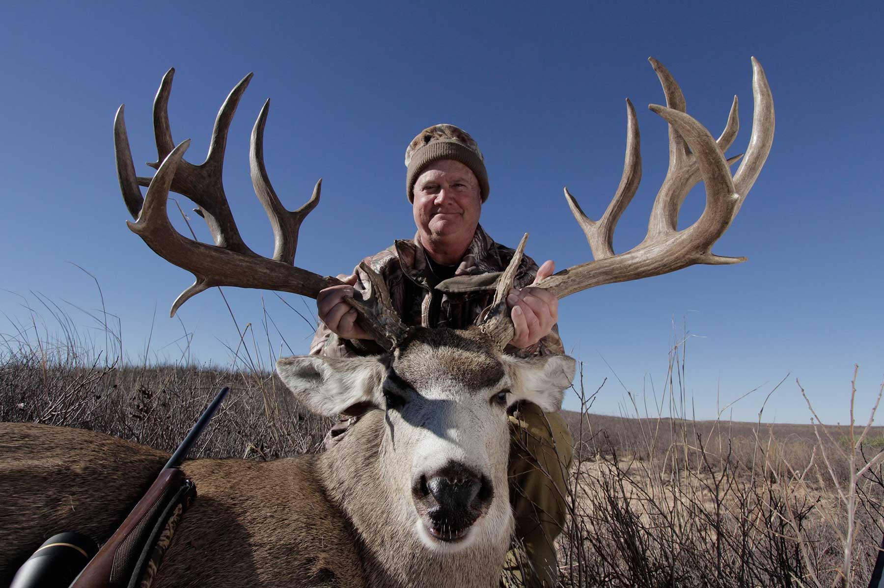 Ultimate Mule Deer Hunt - Big Time Texas Hunts - Tpwd - Mule Deer Population Map Texas