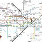 Underground: London Metro Map, England   London Metro Map Printable