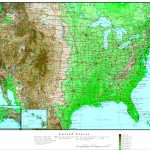 United States Elevation Map – Florida Elevation Map By Address