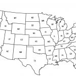 United States Map Quiz Printout Save Us State Map Quiz Printable Us   Printable Picture Of United States Map