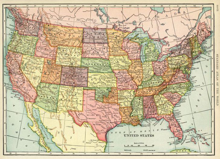Vintage Map Printable
