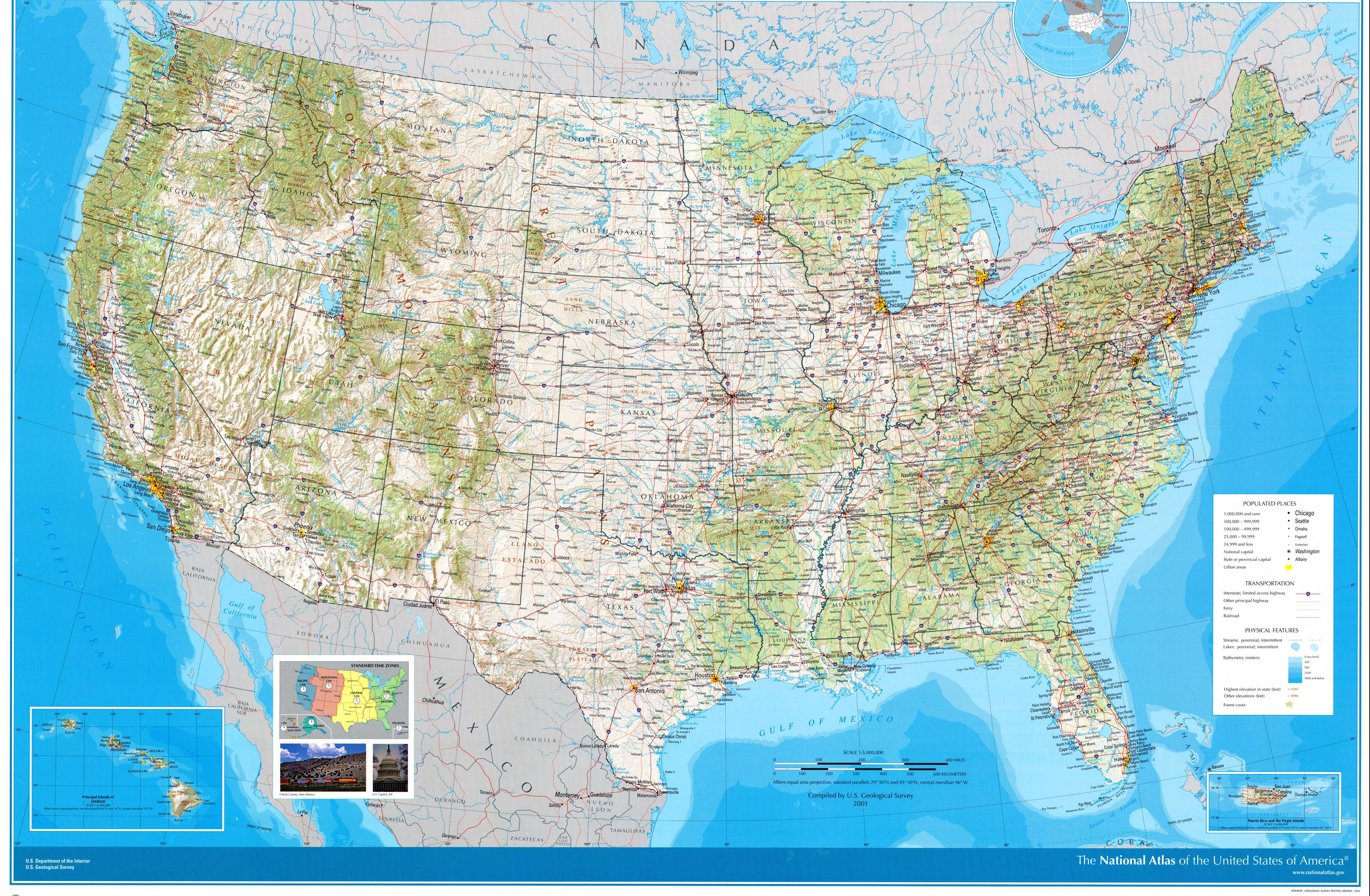 United States Maps - Perry-Castañeda Map Collection - Ut Library Online - Large Usa Map Printable