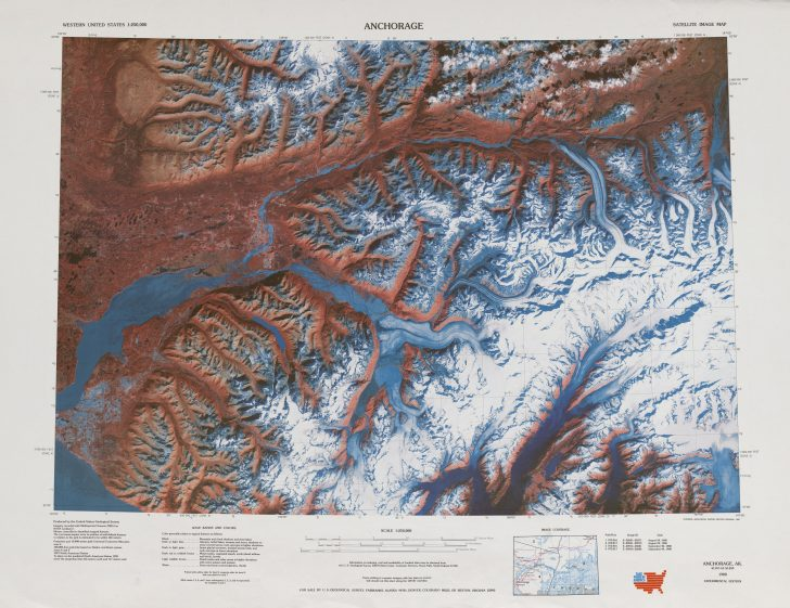 3D Topographic Map Of Texas