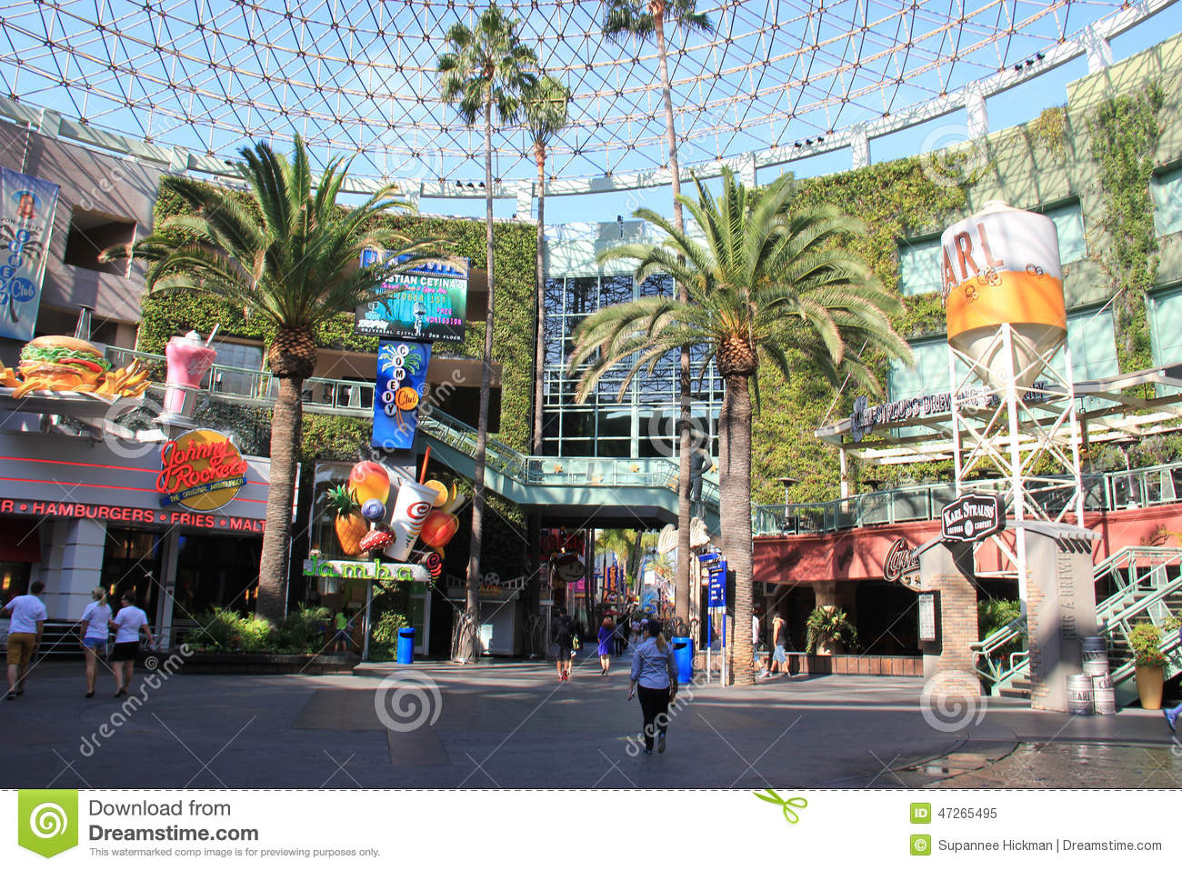 Universal Citywalk Hollywood Editorial Image - Image Of American - Universal Citywalk California Map