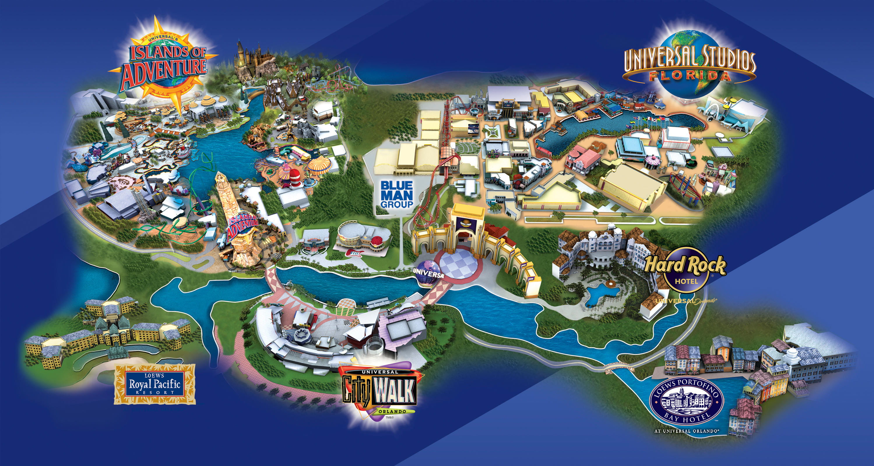 Universal Hotels Map | 2018 World's Best Hotels - Map Of Universal Florida Hotels