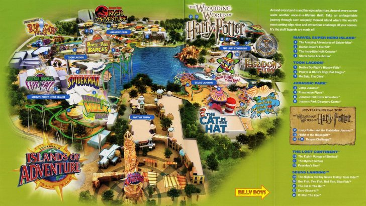 Universal Orlando Florida Map