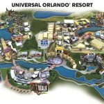 Universal Resort Map. Staying At Hard Rock Hotel Means You're Close   Map Of Universal Florida Hotels