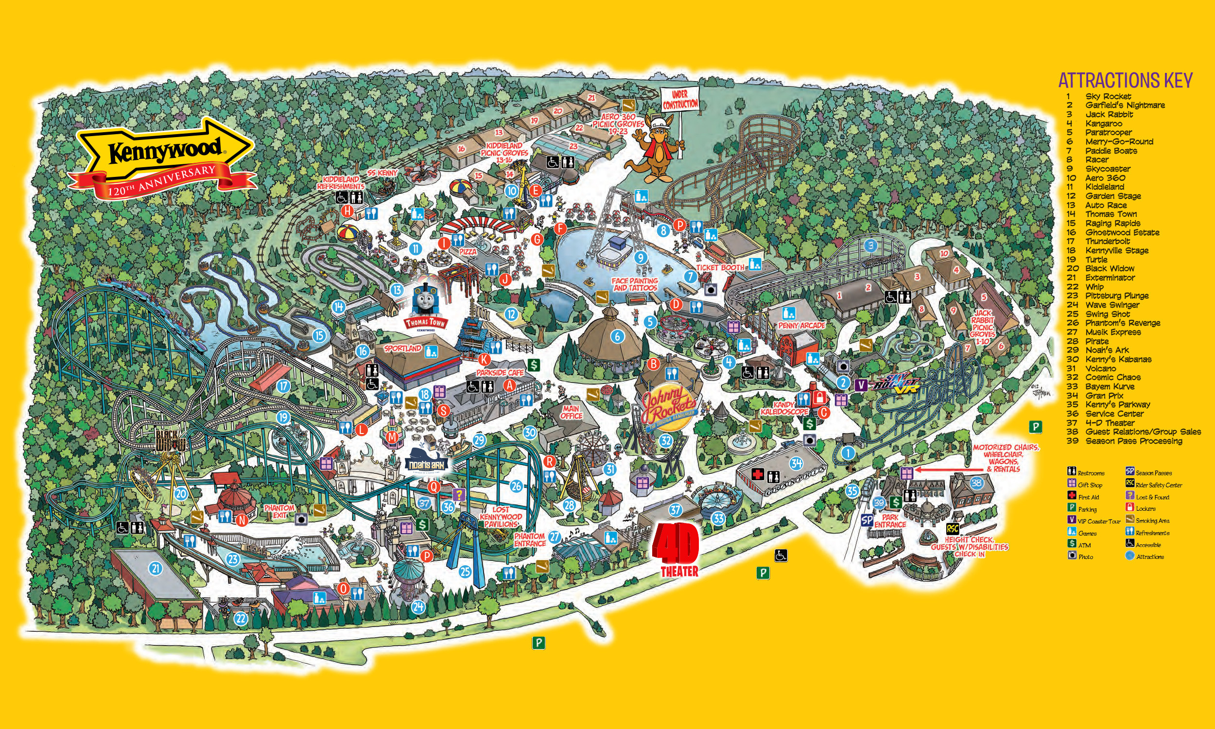 Universal Studios California Map From Gotravelingabroad 10 - Universal Studios California Map Of Park