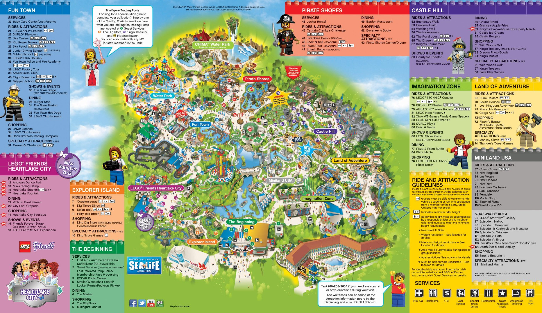 Universal Studios California Park Map Inspirational Legoland - Legoland Map California Pdf