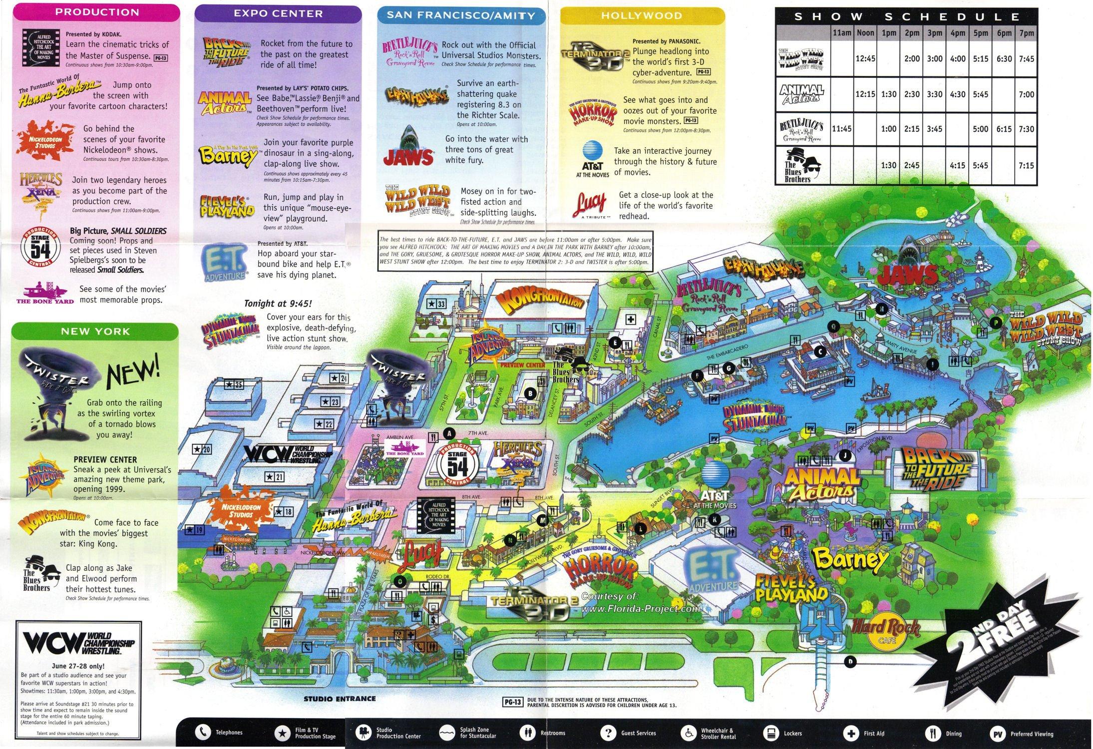 Universal Studios Florida Map 2018 From Ambergontrail 4 - Ameliabd - Universal Parks Florida Map