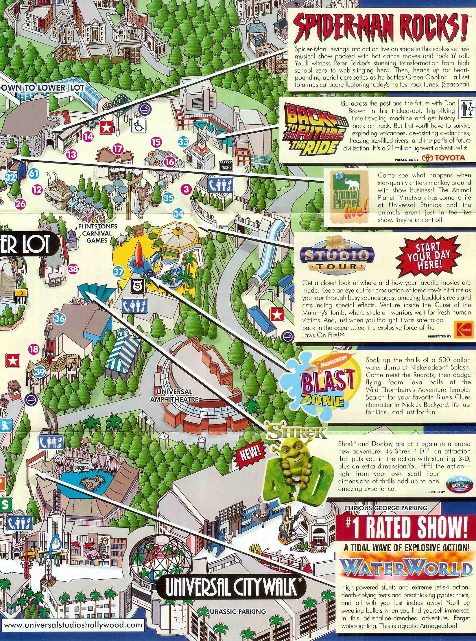 Universal Studios In Hollywood Tourist Google Maps California - Google Maps Hollywood Florida