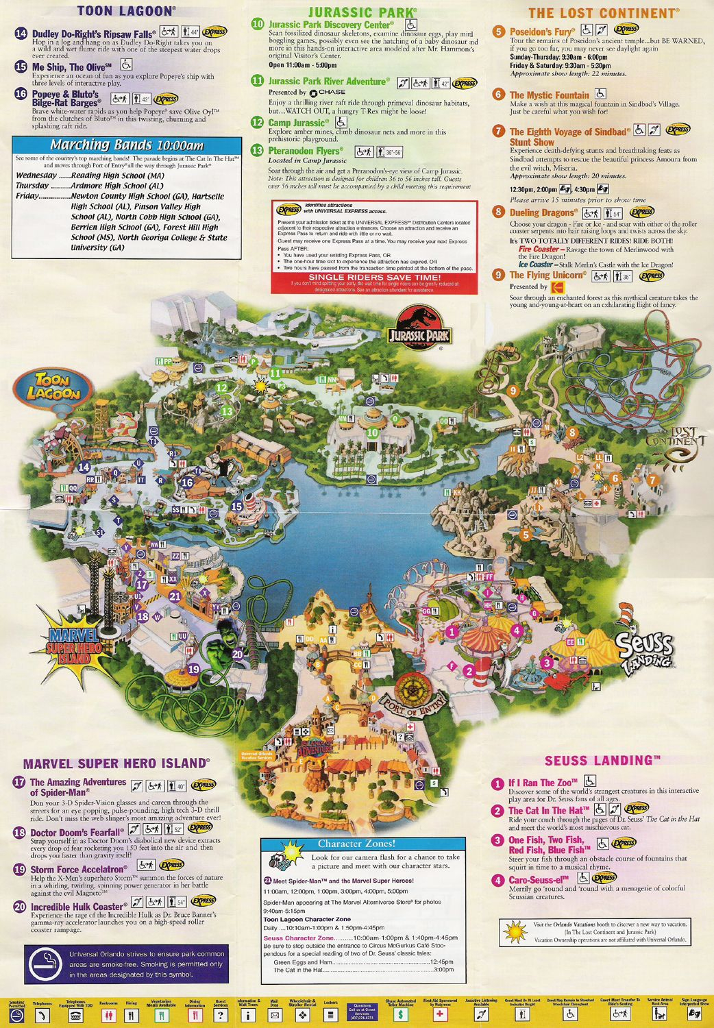 Universal Studios Orlando Map Of Area | Universal Studios Guide Map - Printable Map Of Universal Studios Orlando