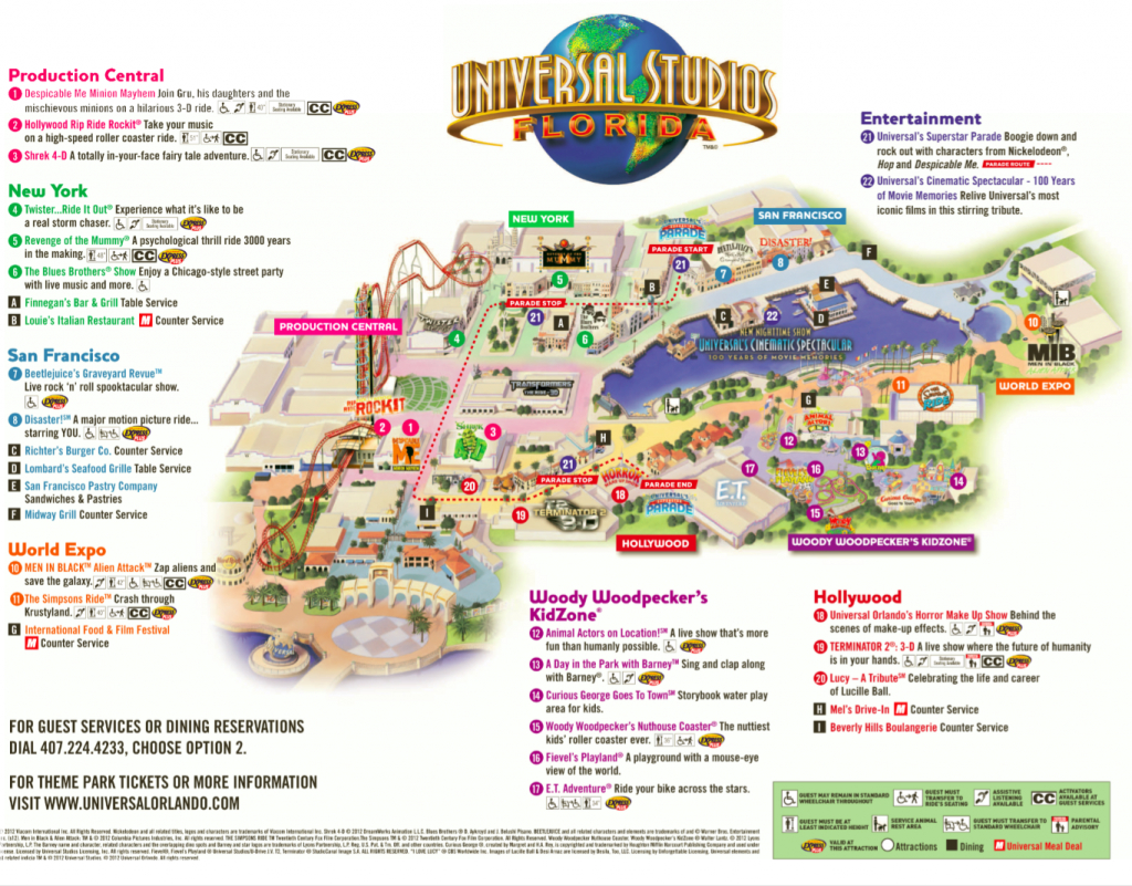 Universal Studios | Spring Break Vacation 2015 | Pinterest - Map Of Amusement Parks In Florida