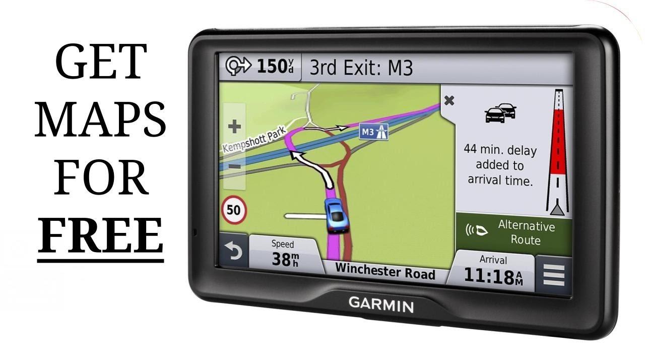 Update Garmin Satnav Maps For Free !! - Youtube - Sat Nav With Florida Maps