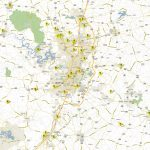 Updated Disc Golf Map For Greater Austin Area   Disc Golf Course Review   Printable Map Of Austin