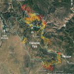 Updated Map Of Detwiler Fire Near Mariposa, Ca   Wednesday Afternoon   California Fire Map 2017