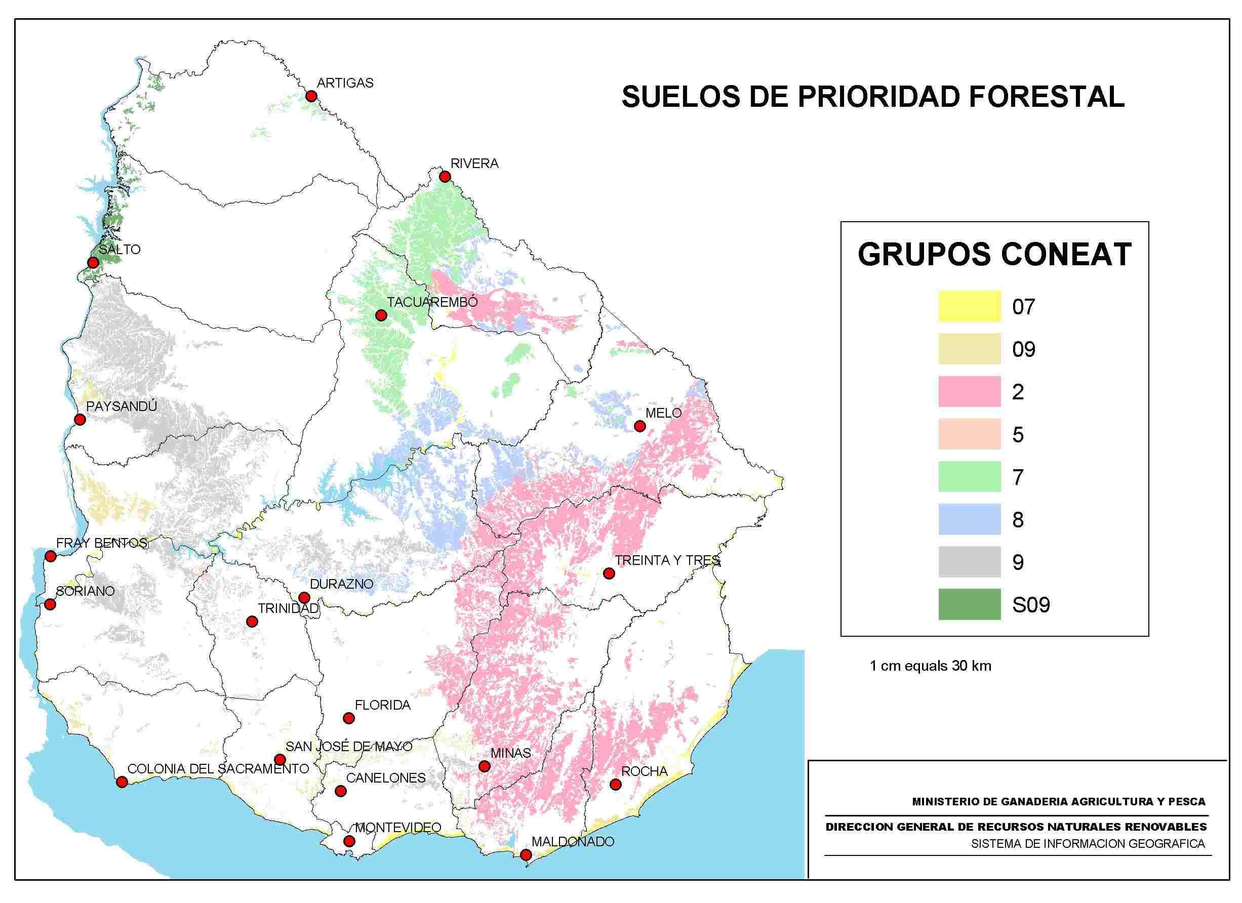 Uruguay Soil Maps - Florida Soil Types Map