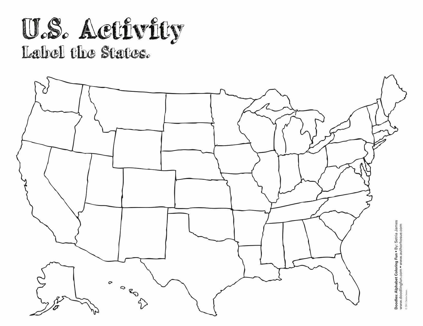 Us 50 State Map Practice Test Fill Blank Us Map Game Usmapblank - States And Capitals Map Quiz Printable