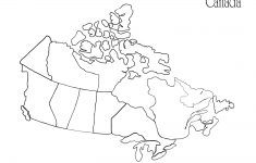 Us Canada Map Printable Fresh Us Canada Map Outline Refrence – Free Printable Map Of Canada