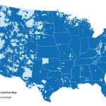 Us Cellular Coverage Map Canada New T Mobile Coverage Map California   Cell Phone Coverage Map California