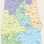 Us Congressional District Map Florida Refrence United States   Us Map Of Alabama And Florida