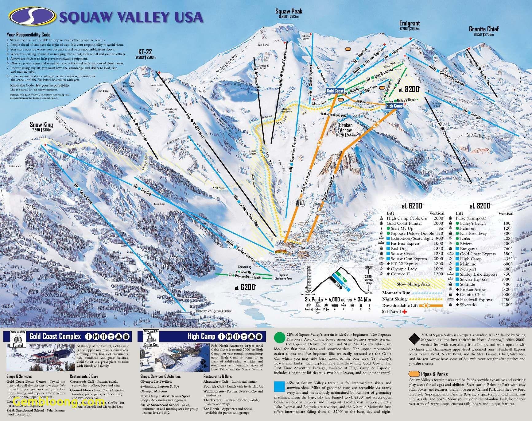 Us East Coast Ski Resorts Map New Southern California Ski Resorts - Southern California Ski Resorts Map
