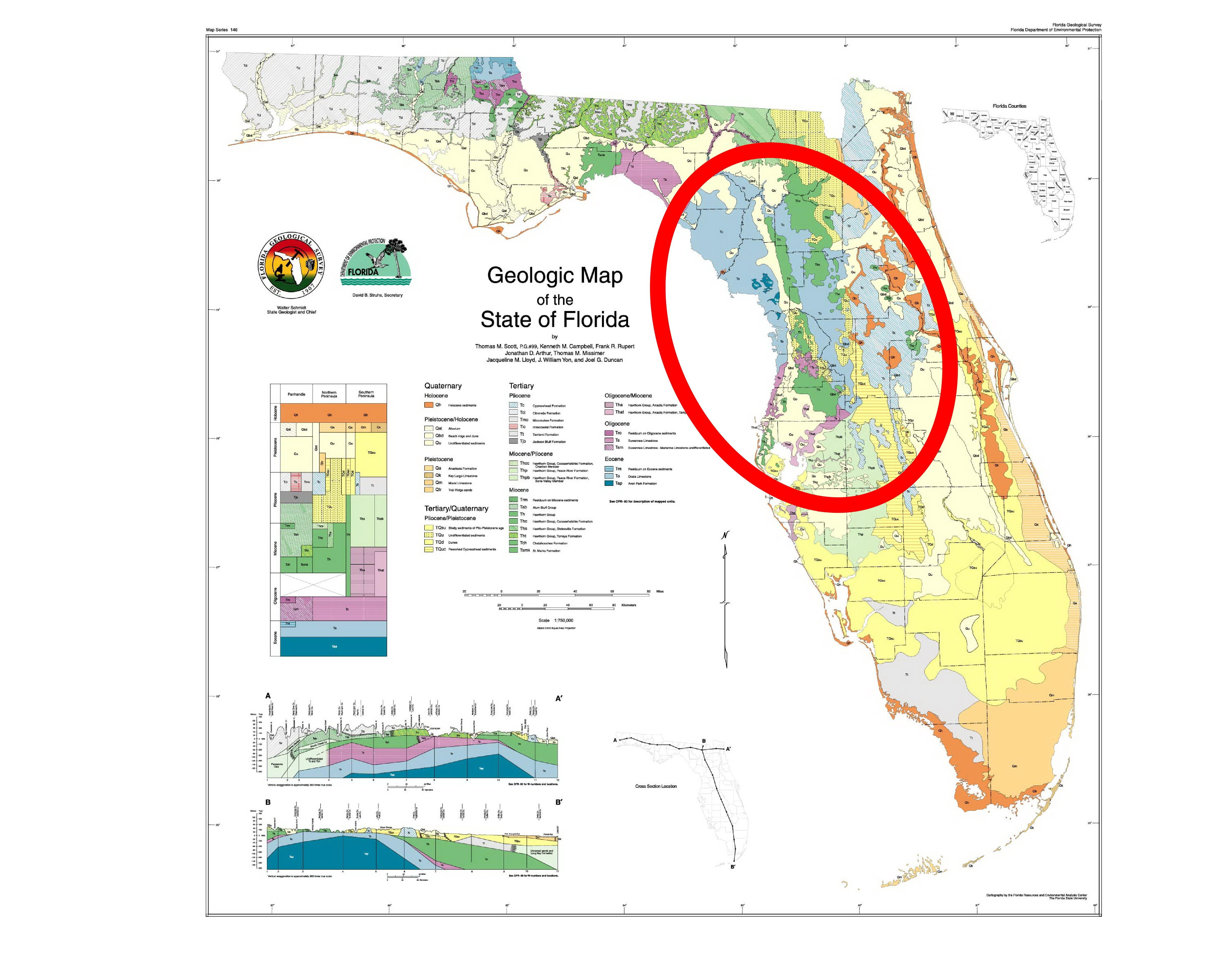 Us Geological Sinkhole Map Sinkhole Zones In Fl Awesome Sinkhole Map - Florida Sinkhole Map