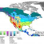 Us Growing Zone Map Printable Usda Hardiness Zones New Us Climate   Printable Usda Hardiness Zone Map
