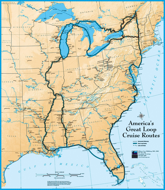 Us Intracoastal Waterway Map Icw1 Image001 Beautiful Florida Georgia - Hilton Head Florida Map