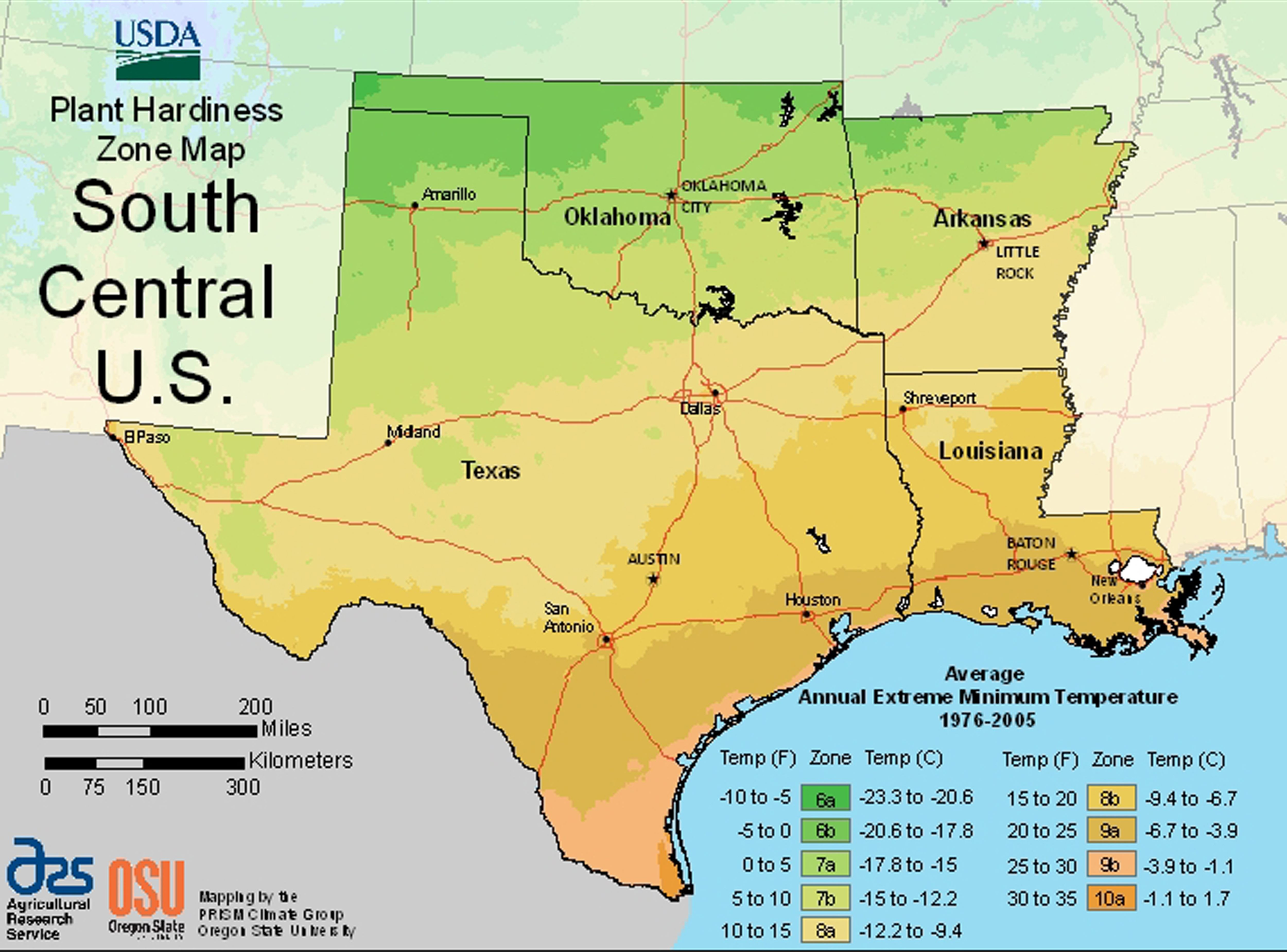 Us Map Of Growing Zones New Us Climate Zone Map Luxury Usda Texas - Texas Hardiness Zone Map