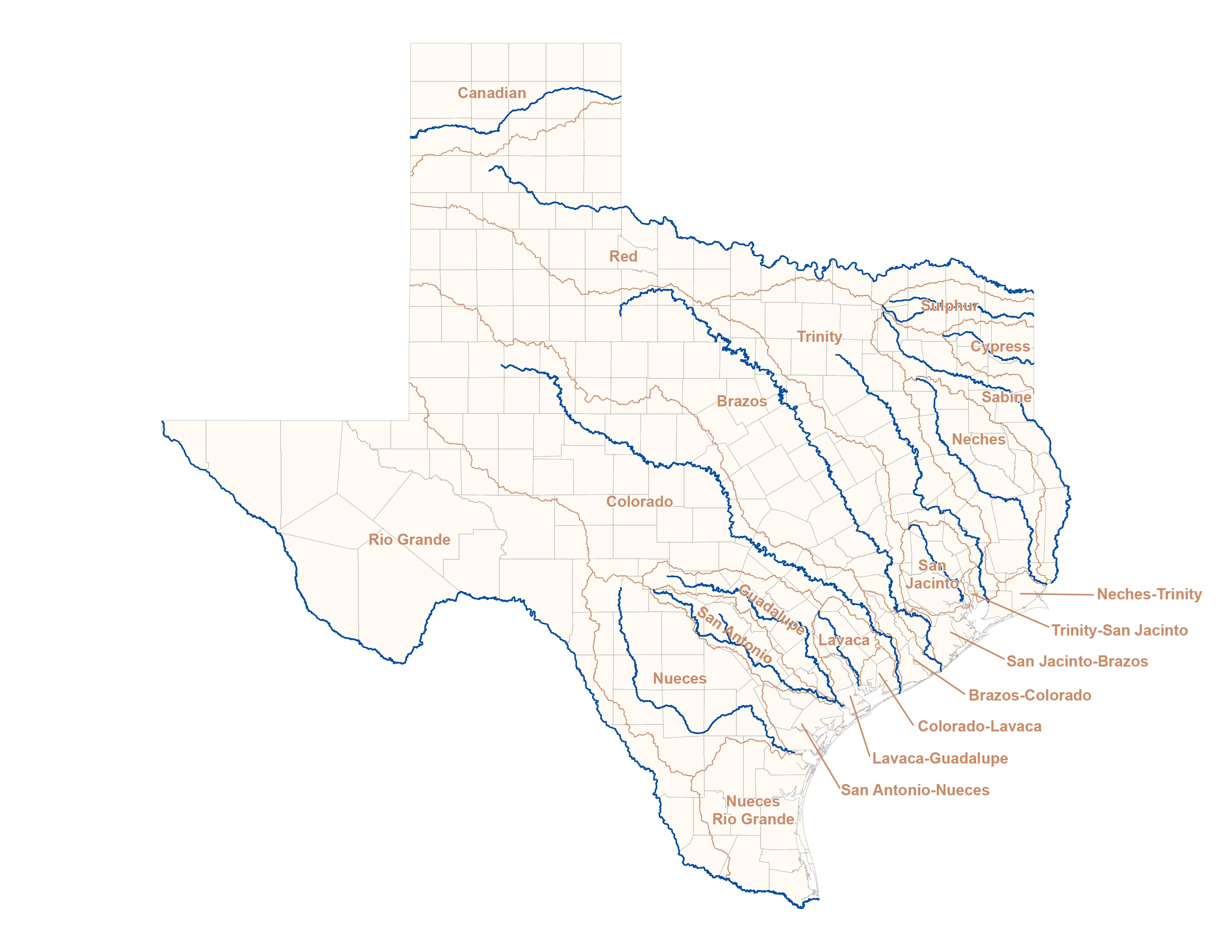 Us Map With Cities And Rivers Texas River Map Best Of Maps Texas - Colorado River Map Texas